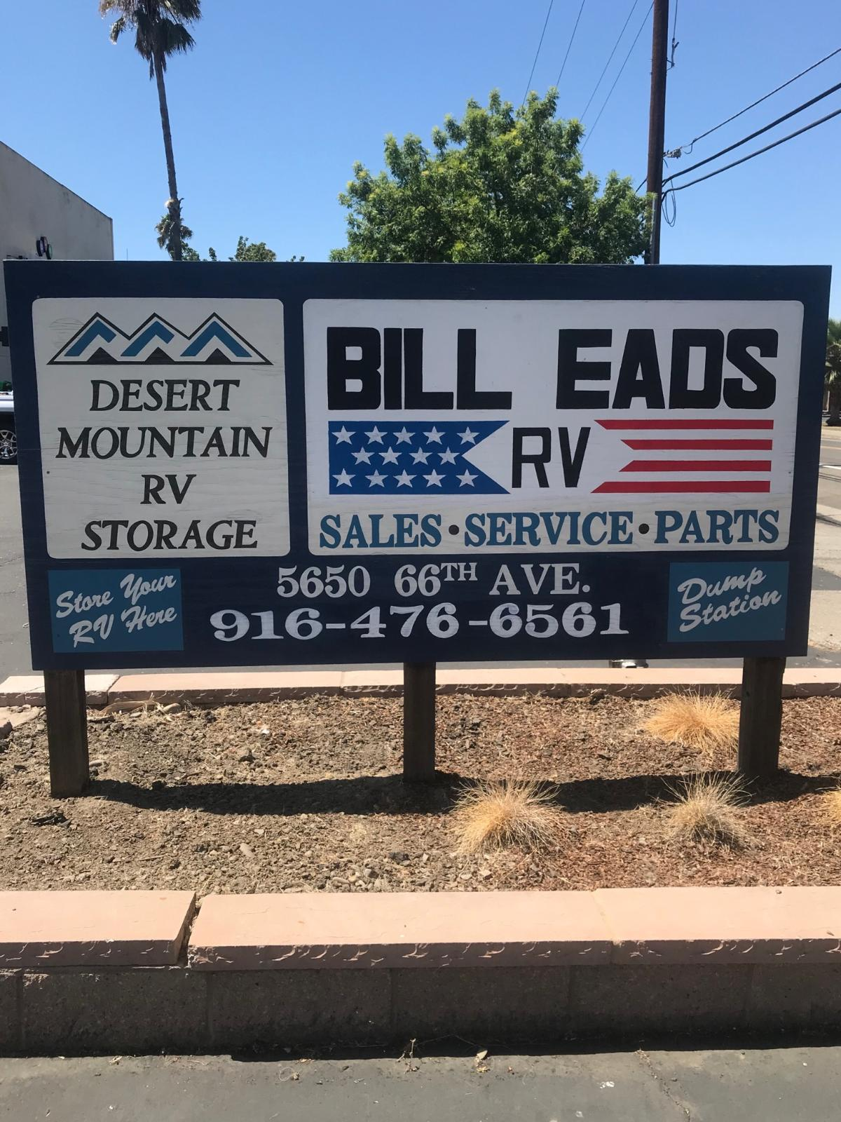 RV, Trailer, Camper, Boat Storage South Sacramento - Desert